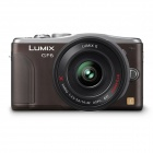 Genuine Panasonic Lumix GF6 w/14-42 - Brown