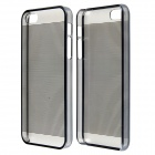 CM01 Laser Drawing / Carving Pattern Protective PC Back Case for IPHONE 5 / 5S - Black