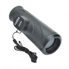 Panda 10X50 Waterproof Monocular Telescope w/ High Resolution Large Eyepiece - Black