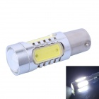1156 / BA15S / P21W 11W 400lm White 5-LED Car Steering / Backup Light (DC 12~24V)