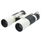 Panda 30X40 Waterproof FMC Green Film + Blue Film Portable HD Night Vision Binoculars - Black +Geige