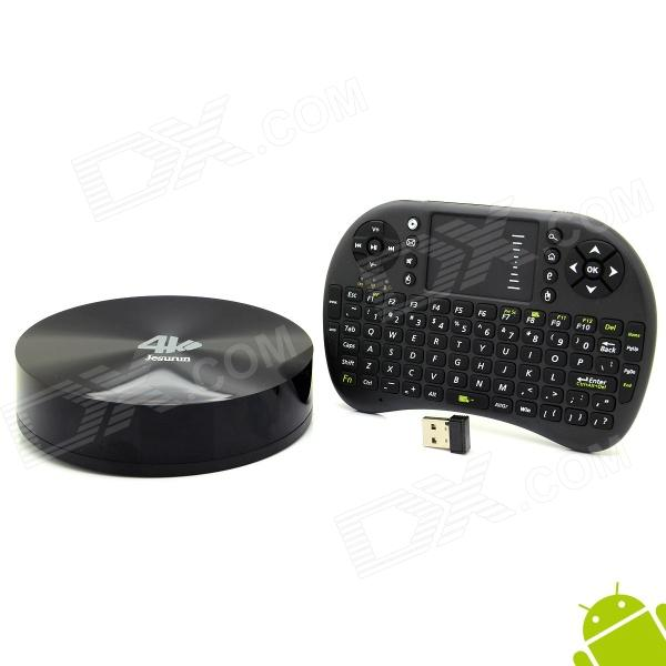 Jesurun S82B Quad-Core Android 4.4 Google TV Player w/ 2GB RAM, 16GB ROM, XBMC, Netflix + Keyboard