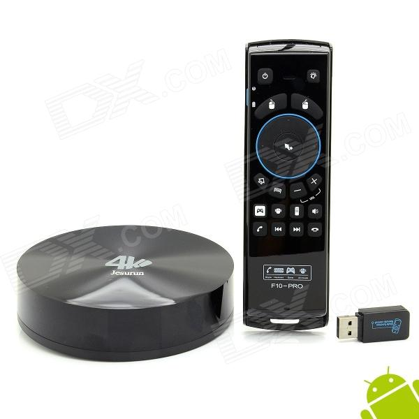 Jesurun S82B 4K Quad-Core Android 4.4.2 Google TV Player w/ 2GB RAM, 16GB ROM + F10 Pro Air Mouse