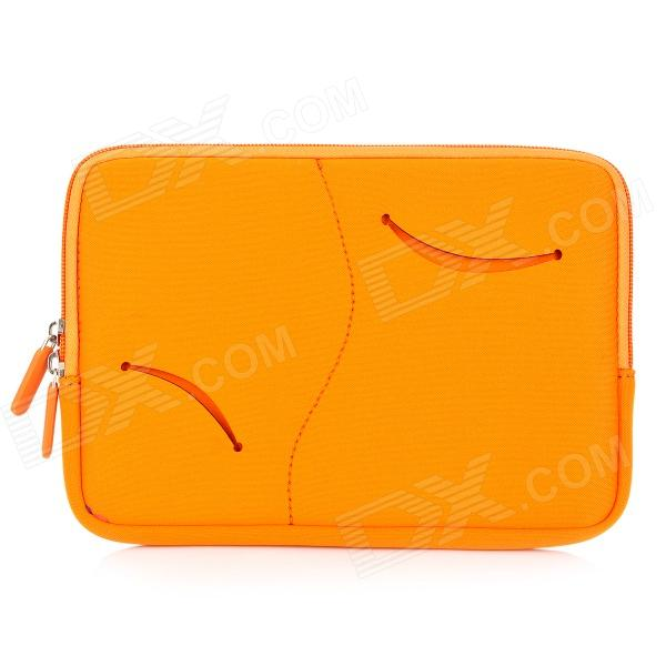 S-What Double Zipper Style Protective Neoprene Bag for IPAD MINI - Orange
