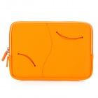 S-What Double Zipper Style Proetctive Neoprene Bag for IPAD MINI - Orange