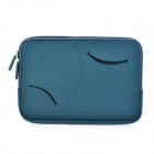 S-What Double Zipper Style Proetctive Neoprene Bag for IPAD MINI - Deep Blue