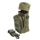 Outdoor Sports 600D Oxford Nylon Water Bottle Bag - Army Green