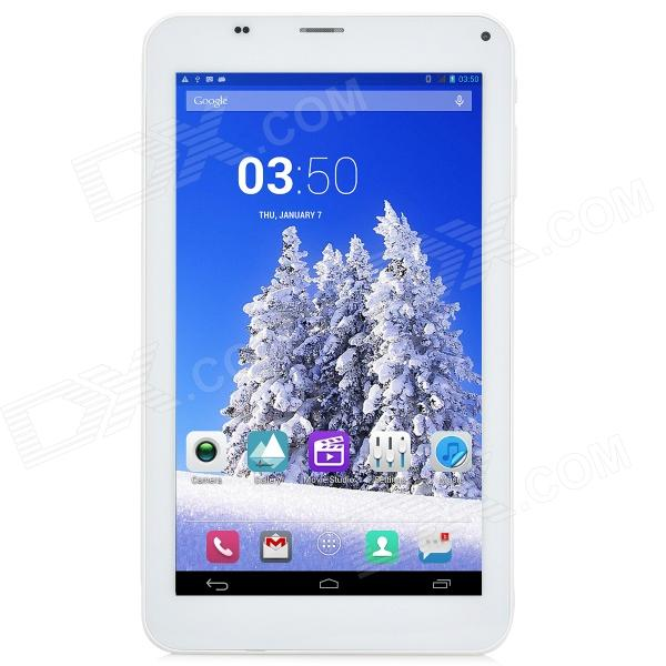 CUBE 7X/U51GTC4 7 Quad Core Android 4.2 Tablet PC w/ 1GB RAM, 8GB ROM, 3G, Bluetooth, GPS, FM, TF sosoon x88 quad core 8 ips android 4 4 tablet pc w 1gb ram 8gb rom hdmi gps bluetooth white
