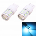 MZ T20 7W 14-SMD 5630 420lm LED Ice Blue Car Backup Signal / Indicator Lamp (12V)