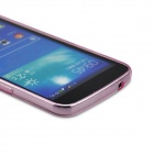 Angibabe Clear Soft Jelly TPU Slim Cover Case for Samsung Galaxy Grand 2 G7106 - Light Pink