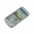 Angibabe  0.45mm TPU & Jelly Case Soft Back Case for Samsung Galaxy S3 i9300 - Translucent Purple