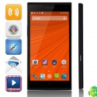 "C1000 MTK6582 Quad-core Android 4.4.2 WCDMA Bar Phone w/ 5.5"" IPS QHD, FM, Finger Scanner - Black"