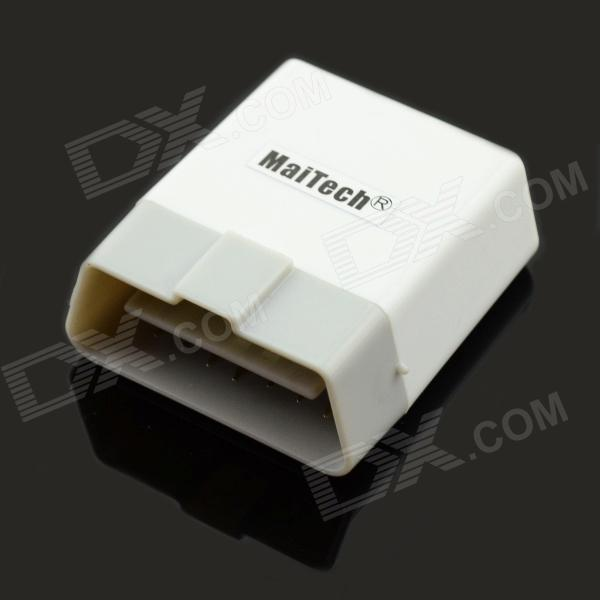 MaiTech ELM327 Bluetooth OBD2 V1.5 Car Diagnostic Interface Tool with Switch - White + Light Grey сканер obd2 elm327 мини ii bluetooth диагностический автомобиль интерфейс