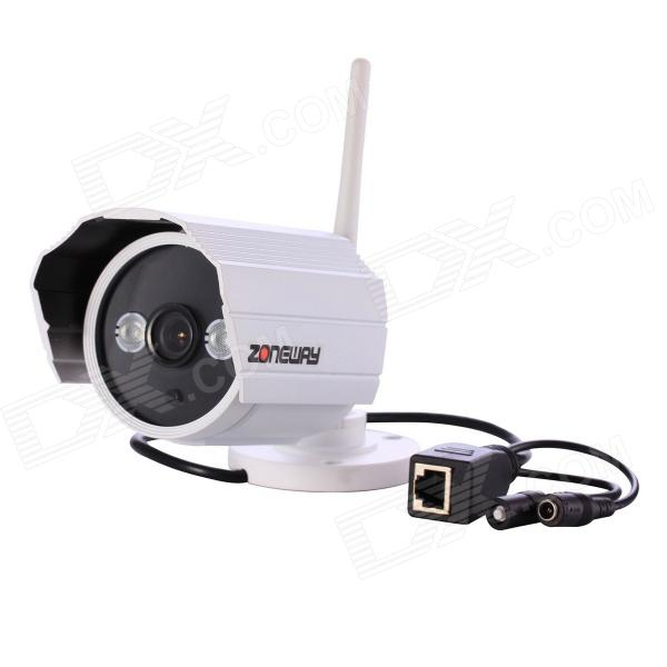 ZONEWAY NC628MW-P Outdoor 720P ONVIF Wi-Fi Wireless Network IP Camera w/ Motion Detection / P2P