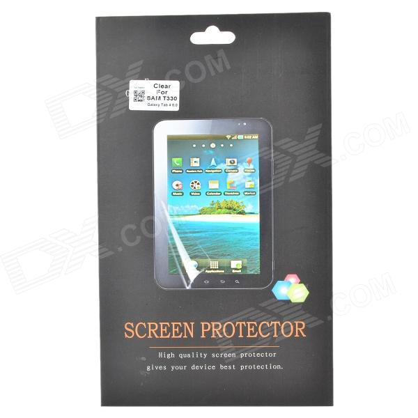 Protective Clear PET Screen Film Guard Protector for Samsung Galaxy Tab 4 8.0 T330 - Transparent