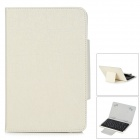 Bluetooth V3.0 59-Key Keyboard w/ Protective Case for 7''~8'' Tablet PC - Off-White + Black