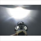 13B 6000K Blue + Red Double Angel Eyes Motorcycle 2.5 Inch Lens Projection Lamp