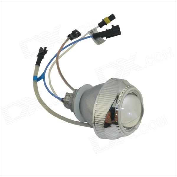 Carking ABF 35W 2600lm 6000K Blue Angel Eyes 2 Inch Motorcycle Lens Projection Lamp - Silver (9~16V)
