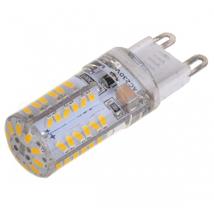 G9 3W 300LM 3500K 3014-58 SMD LED Warm White Light Lamp - White + Silver Grey (AC 220V) cantarelli 3 4