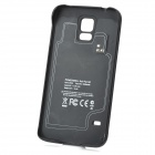 S5-35A 5V 3500mAh Li-polymer Back Case Battery w/ Stand for Samsung Galaxy S5 - Black