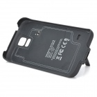 5V 3500mAh Li-polymer Back Case Battery w/ Stand for Samsung Galaxy S5 - Black