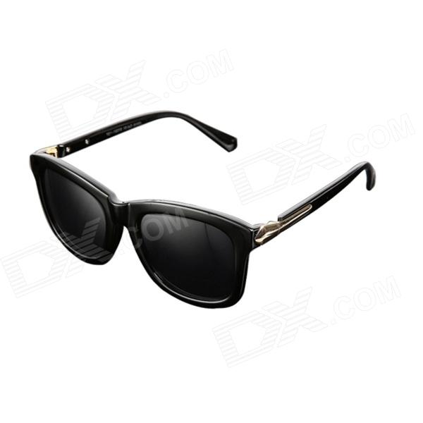 Reedoon 2310 Retro UV400 Protection Han Fashionista Star Sunglasses - Black