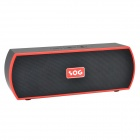 SOG SOG-63II Mini Portable Wireless 2-CH Bluetooth V4.0 Handsfree Speaker w/ Mic. / TF - Black + Red