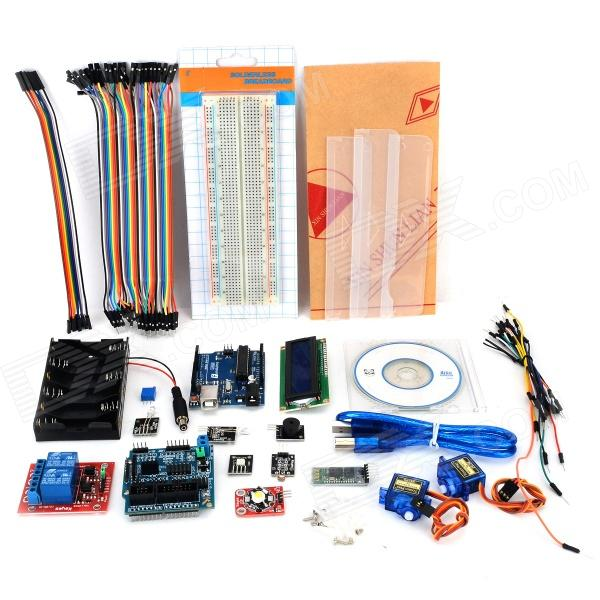 Smart Home Learning Android Bluetooth Module Kit Set for Arduino - Deep Blue цена