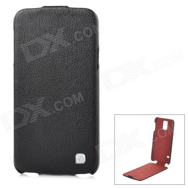 HOCO HS-L079 Durable Flip-open Split Leather Case for Samsung Galaxy S5 - Black