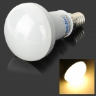 ZDM E14 5W 350LM 3500K 10-2835 SMD LED Warm White Light Bulb - Weiß + Silber (AC 100-240V)
