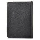 "Protective 6"" Flip-open Litchi Pattern PU Case for Tolino Vision - Black"