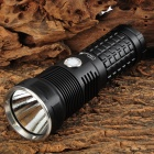 UltraFire M51 1500lm LED 5-mode White Light Memory Flashlight - Black