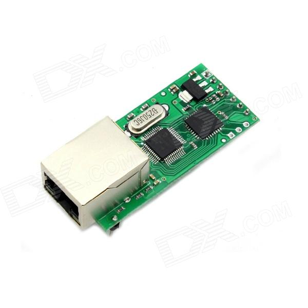 MaiTech red Ethernet al módulo de servidor serial RS232 RJ45 vez TTL / - Green