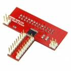 Raspberry PI GPIO Broad with  5V to 3.3V Automatic Voltage Conversion - Red