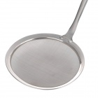 A10-25-04 Convenient Stainless Steel Oil Skimmer Spoon - Silver (M)