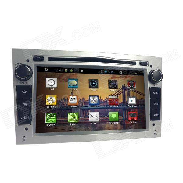 7 IPS Capacitive Screen Android 4.2 Car DVD Player w/ GPS, RDS, Wi-Fi, Radio, AUX,BT for OPEL joyous 1 6g dual core android 4 2 capacitive screen car dvd w radio gps rds bt wifi 3g