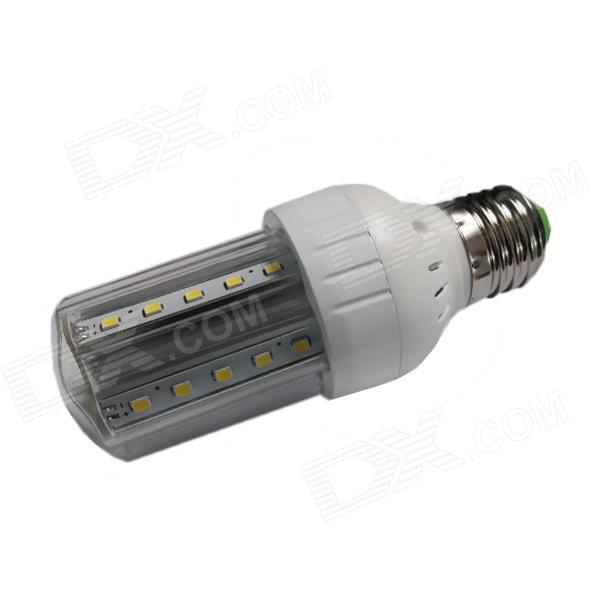 E27 5W 30-SMD 2835 LED 500lm 6500K White Light LED Corn Bulb (85~265V) e27 9w 760lm 6000k 30 smd 2835 led white light bulb ac 85 265v