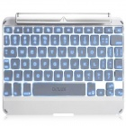 Delux Super Backlighting Wireless Bluetooth 3.0 Keyboard for IPAD MINI or IPAD MINI 2 - Silver