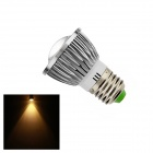 E27 6W 160lm 3000K COB LED Warm White Light Lamp Bulb (AC 85~265V)