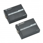 CHEERLINK A HDMI KVM Extender / Transmitter & Receiver Set - Black + White