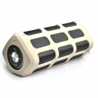 DITTER S33 Wireless Portable Outdoor Sports Bluetooth V2.1 Speakers w/ 7000mAh Power Bank - Khaki
