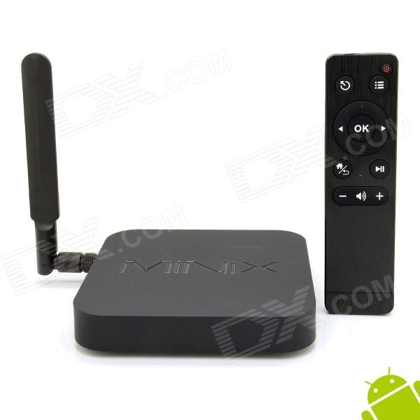 MINIX NEO X8 Quad-Core Android 4.4.2 Google TV Player w/ 2GB RAM, 8GB ROM + M1 Air Mouse - Black