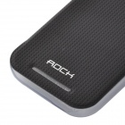 ROCCIA elegante protettiva PU Leather Case Cover w / TPU Custodia posteriore per HTC M8 Mini - nero