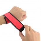 Outdoor Sport 3-Mode Flashing LED Warning Strap Arm Band - Red + Black (2 PCS)