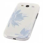 Kinston Blossom Flowers Pattern Protective Plastic Hard Back Case for Samsung Galaxy S3 i9300 -White