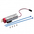 ZnDiy-BRY RC-01 CNC Machined Electronic Fuel Pump for RC Airplane - White + Red