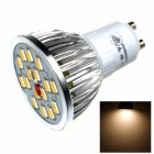 ZHISHUNJIA DB-GU101 GU10 8W 480lm 3000K 16 x SMD 5630 LED Warm White Light Lamp Bulb - (AC 85~265V)