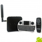 MINIX NEO X8 Quad-Core Android 4.4.2 Google Player + English White Mini Keyboard w / 2GB / 8GB