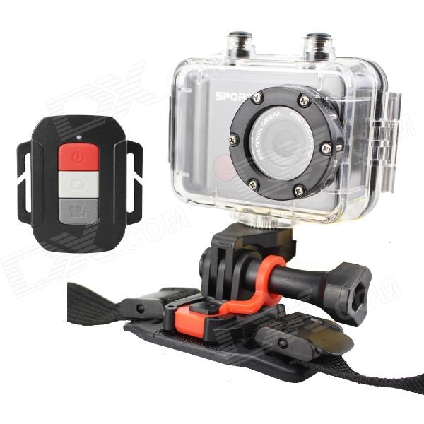 "S26 2.0"" TFT 5.0 MP CMOS Full HD 1080P 30M Waterproof Action Sports Camera w/ Micro USB / Micro SD"