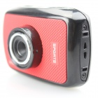 "M-Shing SP100 1.77"" TFT LCD 5.0 MP HD 720P Waterproof Action Sports Camera - Red + Black"